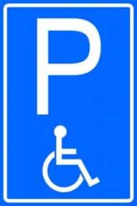 invalide parkeerplaatsen malden winkelcentrum